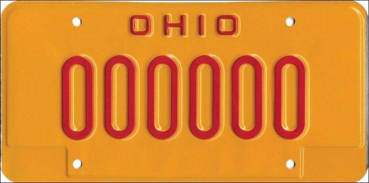 Ohio OVI Driving Penalties Plates