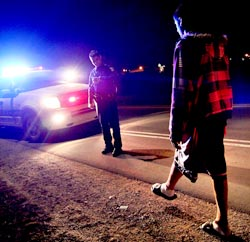 Ohio DUI DWI One Leg Stand